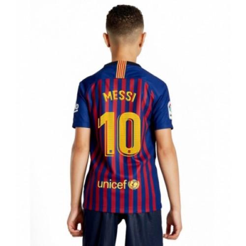 Detskaya Forma Messi Barselona Domashnyaya 2018 2019 Kupit V Moskve Internet Magazin Goalmart